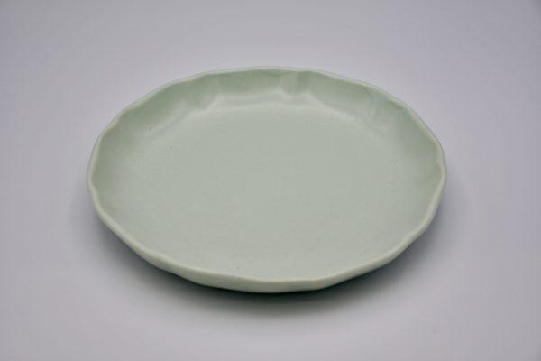 丸皿(薄グリーン)