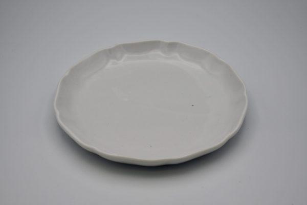丸皿(白)