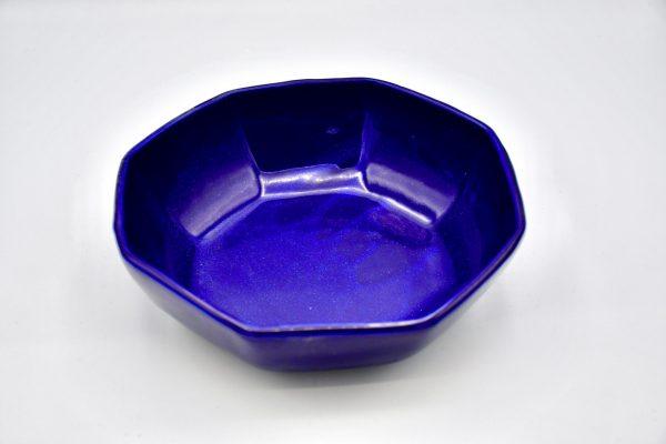 八角鉢(ルリ色)