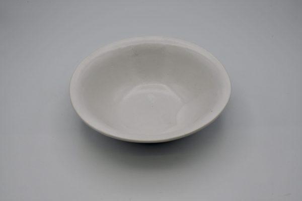 楕円鉢(白)