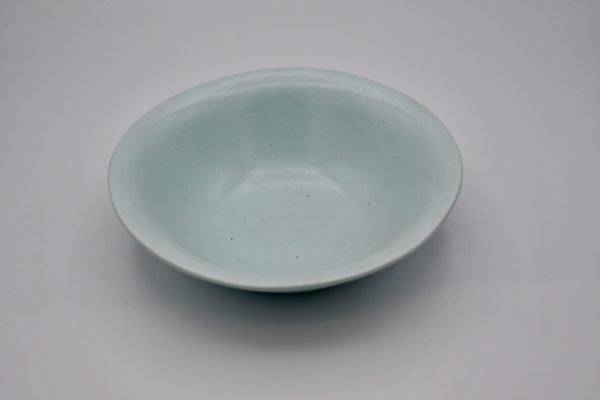 楕円鉢(薄ブルー)