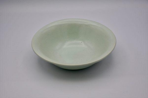 楕円鉢(薄グリーン)
