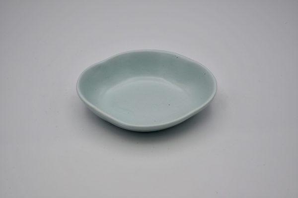 花形小鉢M(薄ブルー)