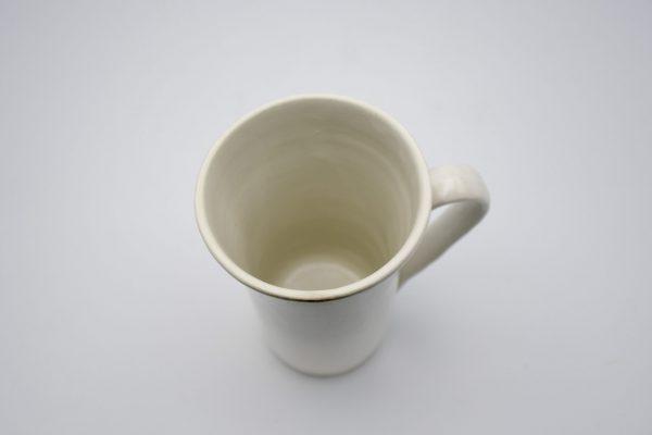 筒型マグカップ(白)